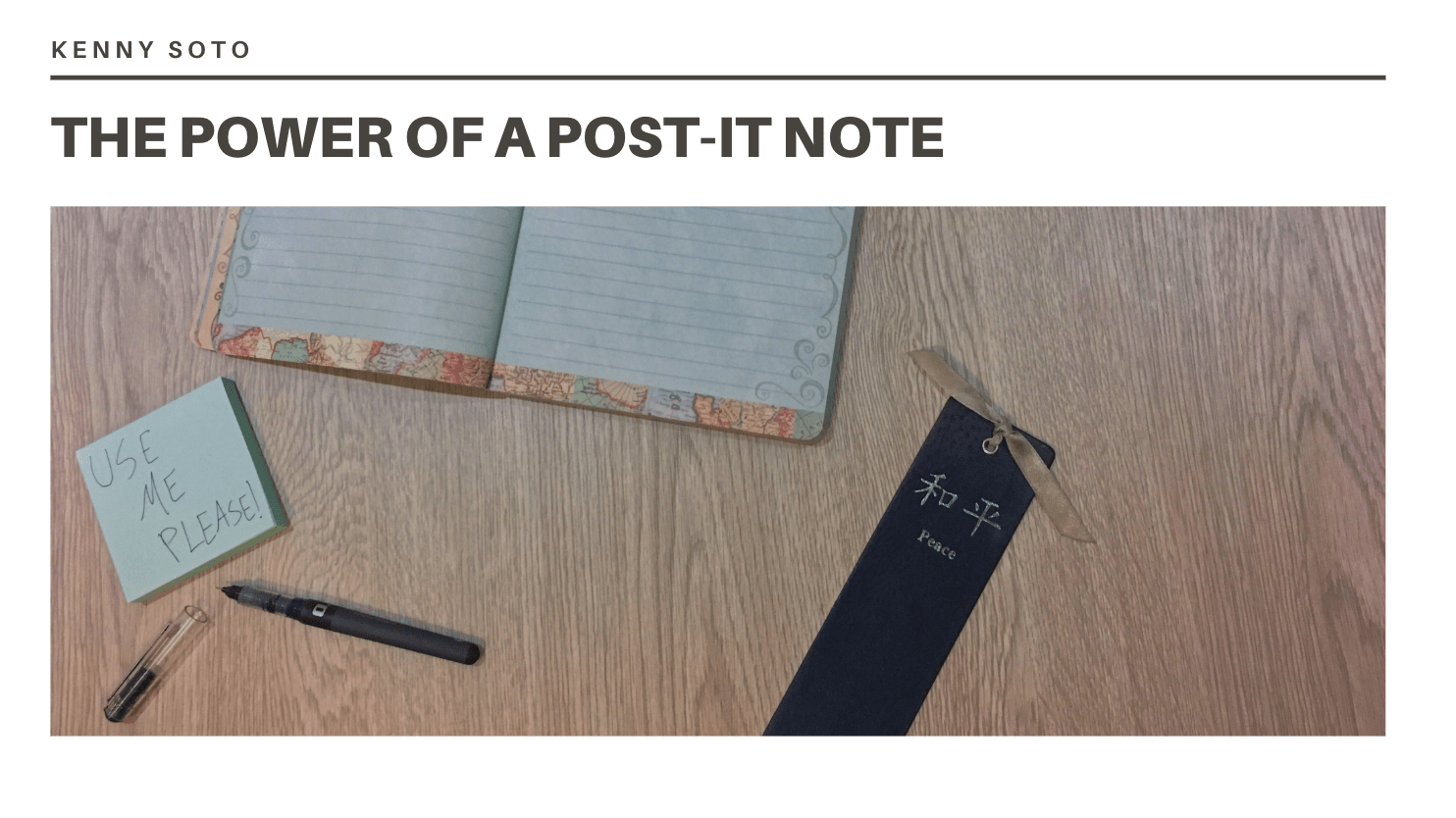 The Power of a Post-it Note